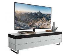 Musterring TV-Lowboard MEDIA-SMART,Glas,Weiß