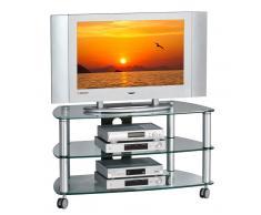TV/Hifi-Wagen FLORIAN,Glas,klar
