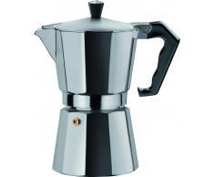Espressokocher BRASIL 1 Tasse,Aluminium,silber