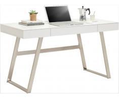 XORA Schreibtisch AUSTIN,MDF,Weiß