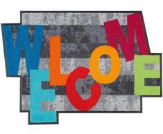 Kleen-Tex Fußmatte Crazy Welcome,Polyamid,multicolour