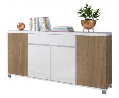 XORA XL-Sideboard THILA,Holznachbildung,eiche