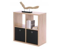 Z2 Regalwürfel (4er) MAX,Holznachbildung,Eiche sägerau/sonoma