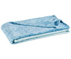 Zurbrüggen Wohndecke Anastasia blau,Polyester,blau