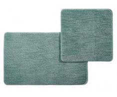 Esposa Badematte 50/80+50/50cm DOURO,Polyester,grün