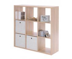 Z2 Regalwürfel (9er) MAX,Holznachbildung,Eiche sägerau/sonoma