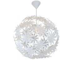 Nino Leuchten Deckenleuchte 1-flg. Flower,Kunststoff,Weiß