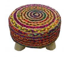 Z2 Sitzhocker MILA,Baumwolle,multicolour