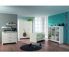 Paidi Babyzimmer FIONA,Holznachbildung,Weiß