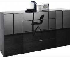 Novel XL-Sideboard FOCUS,Holznachbildung,anthrazit