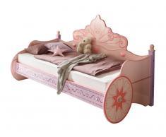 Zurbrüggen Kinderbett PRINCESS,Holznachbildung,lila