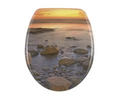 Zurbrüggen WC-Sitz Stone Shore,Duroplast,multicolour