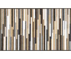 Kleen-Tex Fußmatte Mikado Stripes natur,Polyamid,braun