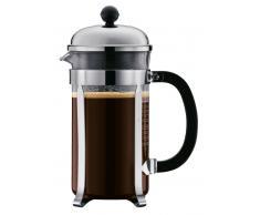 Bodum Kaffeebereiter 0,35l, 3 Tassen CHAMBORD,Glas,klar