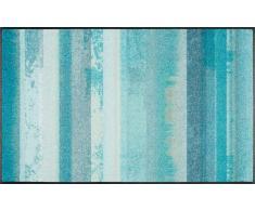 Kleen-Tex Fußmatte Aquamix,Polyamid,blau