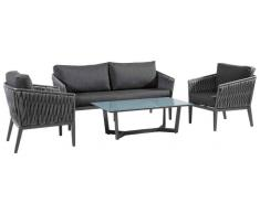 Amatio Lounge-Set Viareggio,Aluminium,grau