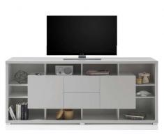 XORA TV-Lowboard MAX,Holznachbildung,grau