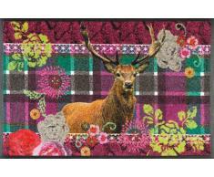 Kleen-Tex Fußmatte Knitty Wild,Polyamid,violett
