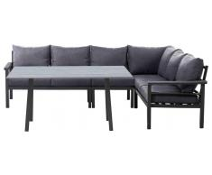 Amatio Lounge-Set OLYMPIA,Aluminium,grau