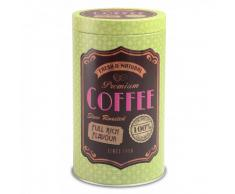 Zurbrüggen Kaffeedose rund LIFE STYLE,Metall,grün
