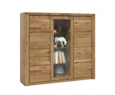 Hom´in Highboard TERESA,Massivholz,wildeiche