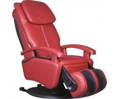 Cantus Massagesessel ALPHA 599i,Leder,rot