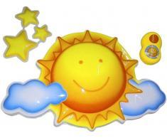 Bieco Nachtlicht mit Musik Sonne,Kunststoff,multicolour