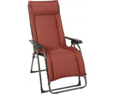 Zurbrüggen Relaxsessel XL OASI,Metall,rot