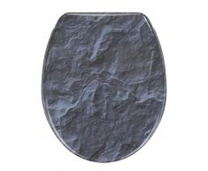 Zurbrüggen WC-Sitz Slate Rock,Duroplast,multicolour