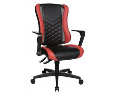 Dieter Knoll Racing Bürostuhl GAMING CHAIR,Stoff,schwarz