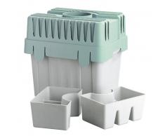 Zurbrüggen Wäschetrockner-Kondensator,Polyproplyen,grau