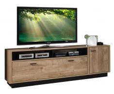 Z2 TV-Lowboard WIDIN,Holznachbildung,eiche