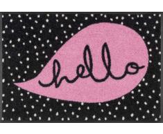 Kleen-Tex Fußmatte Hello Dots,Polyamid,rosa
