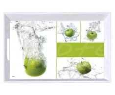 Homeware Serviertablett Motiv: Äpfel KESPER,Melamin,Motiv
