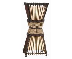 Nino Leuchten Tischleuchte 2-flg. Bamboo,Holz,braun