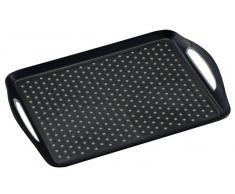 Kesper Serviertablett 45,5x32x4,5cm KESPER,Kunststoff,schwarz