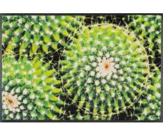 Kleen-Tex Fußmatte Spiny Green,Polyamid,grün