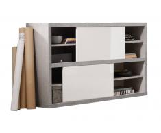 XORA Sideboard PUNTO,Holznachbildung,beton