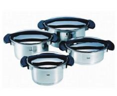 Fissler Topf-Set 4-tlg. Magic Line sch MAGIC LINE,Edelstahl,chrom