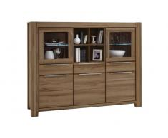 Z2 Highboard NENA,Massivholz,wildeiche