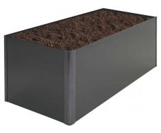 Biohort Hochbeet HOCHBEET,Stahl,grau