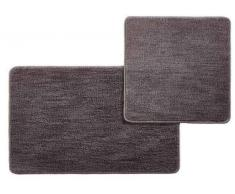 Esposa Badematte 50/80+50/50cm DOURO,Polyester,grau