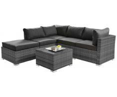 Ambia Lounge-Set KRK,Stoff,grau