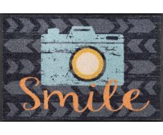Kleen-Tex Fußmatte Smile,Polyamid,grau