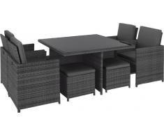 Ambia Lounge-Set KORCULA,Stoff,grau