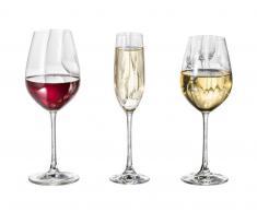 Spiegelau Gläser-Set Salute 18-tlg. SALUTE,Glas,klar