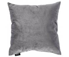 Novel Kissen gefüllt 40x40 cm YVONNE,Polyester,grau