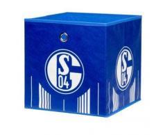 Z2 FC Schalke 04 Faltbox Signet SCHALKE,Stoff,blau
