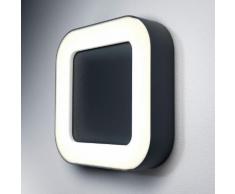 Osram Endura Style Square LED Deckenleuchte / Wandleuchte B: 20,2 H: 4,5 T: 20,2 cm, dunkelgrau 4058075031692, EEK: A+