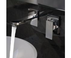 Treos Serie 175 2-Loch Wand-Waschtischarmatur Ausladung: 173 mm 175.01.1800